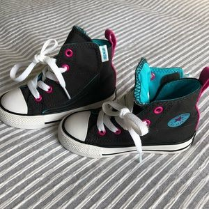 Toddler Girls Converse | Like new | Size 7